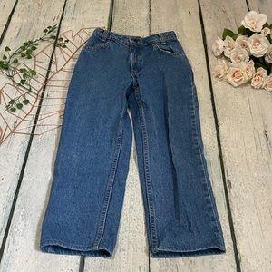 Levi's vintage 12 orange tab jeans denim straight leg Womens high waist blue